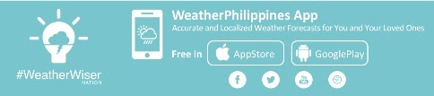 Click here to download the WeatherPhilippines Weather App!